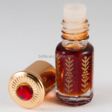 3ml empty oudh attar patti bottle