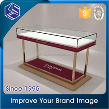 Good Quality jewelry shop furniture glass jewelry display case for sale