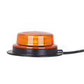 Medium Profile Amber LED Strobe Lights Beacon Warning Light For Vehicles