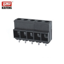 5 row fantastic black terminal block pitch 10.16mm high voltage 52A terminal connector KF135