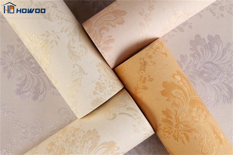 China supplier vinyl wallcovering temporary wholesale cheap wallpaper