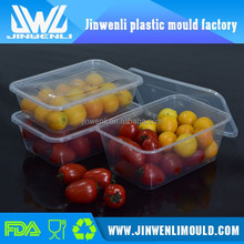 Christmas hot sale plastic clear food storage container