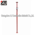Brand new adjustable steel acrow jack for concrete slab