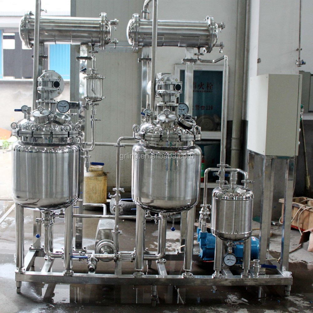 50-200L High Efficient Extracting Concentrating Unit machine