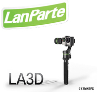 Lanparte 3 axis detachable handheld gimbal for sport camera go pro manufacture LA3D