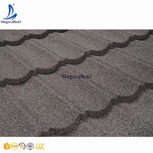 Color Sand coated aluminum zink steel Roof tile Factory Directly