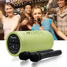 portable speaker with wireless microphone portable pa system mini sound amplifier