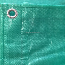 Flame retardant tent only Tarp with strong PP rope in hem