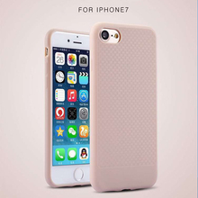 Ultra thin Fashion Design for iphone 7 diy silicone mobile phone cases