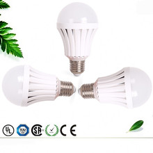 High power supply energy saving 9 / 12 watt home rechargeable led emergency light bulb with small battery operated smd led light