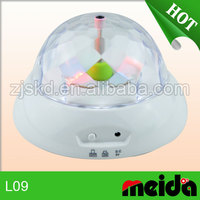 Hot selling fantastic rotating night light baby with music