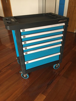 26'' High Quality steel trolley with hand tools 220pcs new product