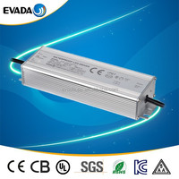 EVADA waterproof electronic led driver 200W ip67 Level 230v 220v regulated power supply