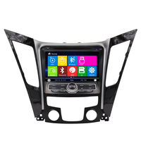 ugode Wholesale 8inch touch screen wince Double Din Car GPS with Radio DVD Player for Hyundai 2012 Sonata