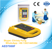 2016 New hot first aid AED equipment automatic external defibrillator for public use (AED7000F)