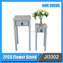 high quality good sell living room furniture 2pcs flower stand