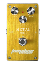 Metal distortion guitar effect pedal