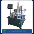 Rotary juice plastic cup filling and sealing machine