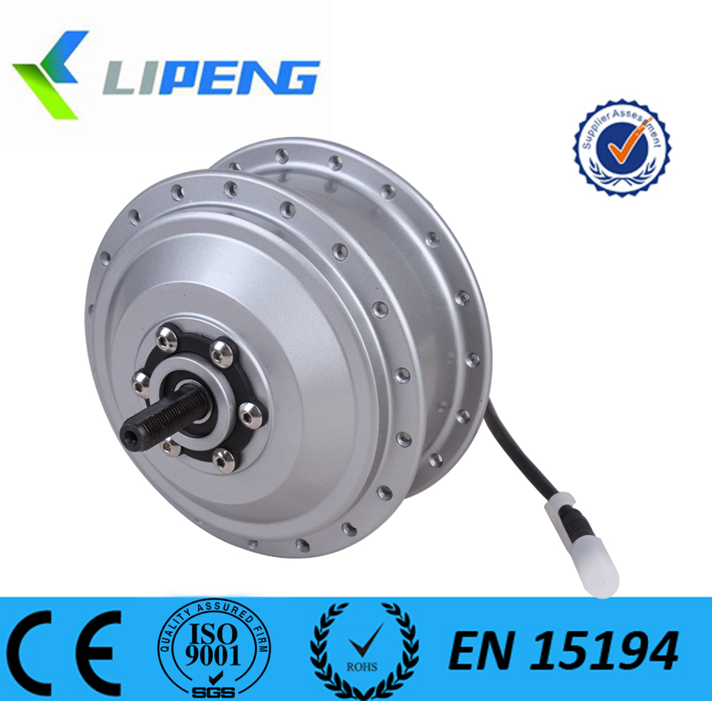 36 volt 250 watt electric brushless gear hub dc motor for