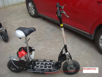 49cc gasoline powered scooter with CE