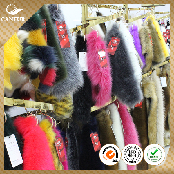Long pile jacquard tip-dyeing imitation fur