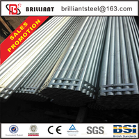steel pipe production line galvanized pipe for greenhouse clamp pre galvanized pipe