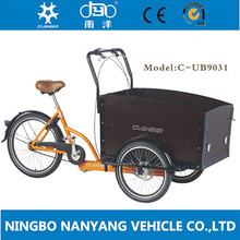 Nanyang cargo tricycle with cabin and box