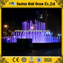 Music Dancing Water Fountain Garden Water Nozzle Fountain