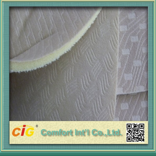 Fashion high quality new style Laminated Car Seat Fabric