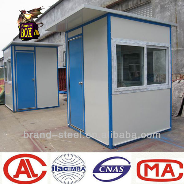 Best price prefab house for sentry box shed