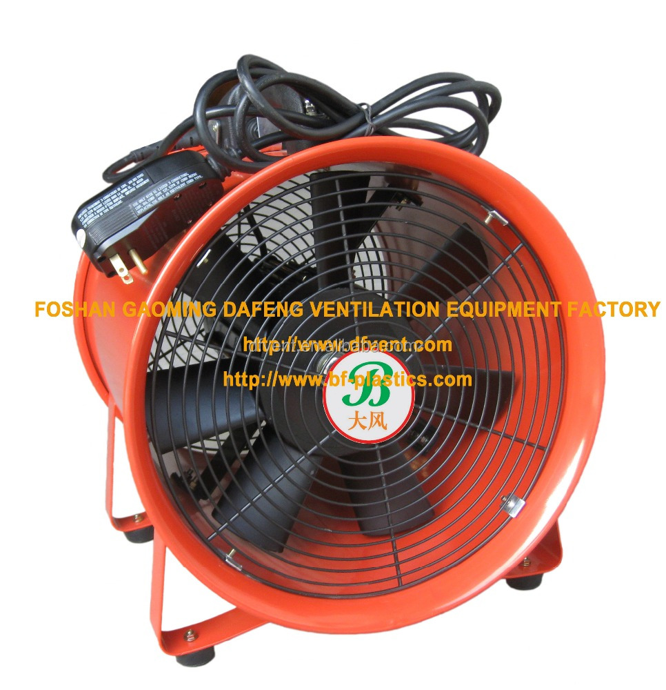 12'' UL certificated electrical portable air ventilation duct fan