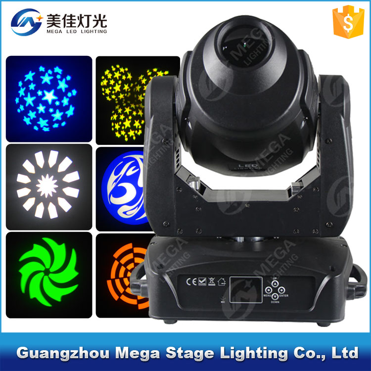professional stage lighting 150w mini led spot moving head