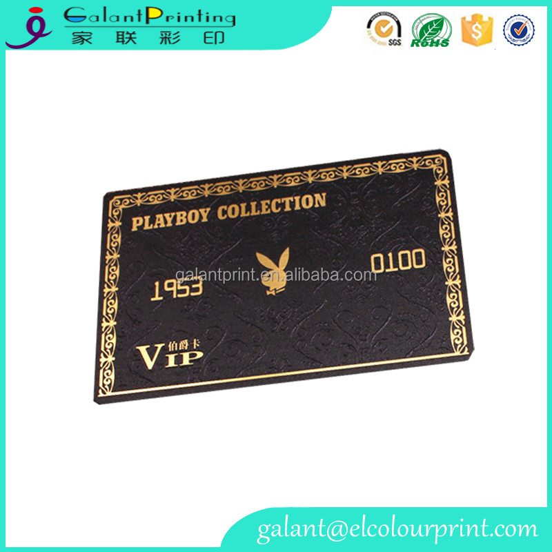 Customized PVC VIP cards, blank visa credit cards,business Id pvc card