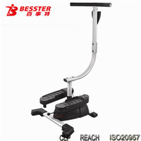 [NEW JS-026] Twister body swing stepper cardio indoor exercise mahine with fitness dvd shake trainer