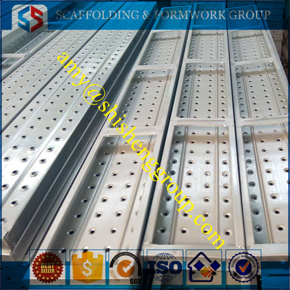 1.8m Galvanized Steel Planks for Kwikstage/Ring Lock /Cup Lock Scaffolding