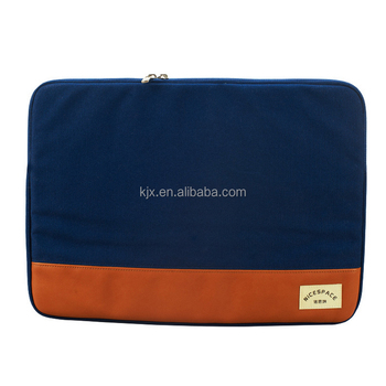 15Inch Canvas Laptop Computer Bag Manufacturers China