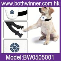 "DA109 ""Remote Barking Stop Pet Training Collar And Waterproof Rechargeable Vibration Dog Collar"
