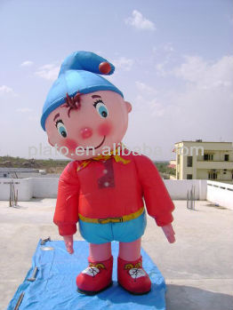 Custom Inflatable Helium Boy Cartoon Balloon for Adversting / Decoration