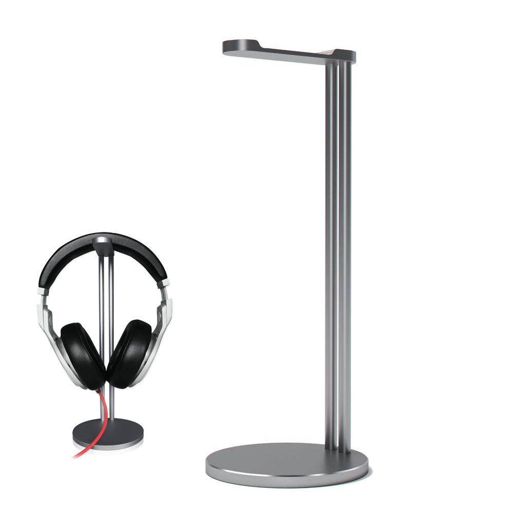 NetDot Micro Sand blasting Aluminum Single Headphone <strong>Stand</strong>