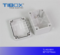 waterproof electronic plastic din rail connection enclosure