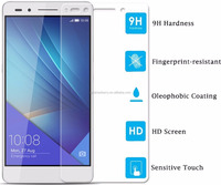For huawei ascend honor 7 all china mobile phone models nano technology products tough glass screen protector