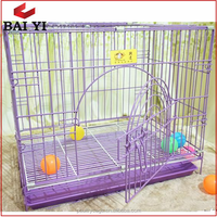Small Animal Folding Pet Cages with Removable Tray