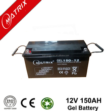 Good agm deep cycle gel battery 12v 150ah price