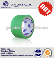 Clear Water Based masking tape paper