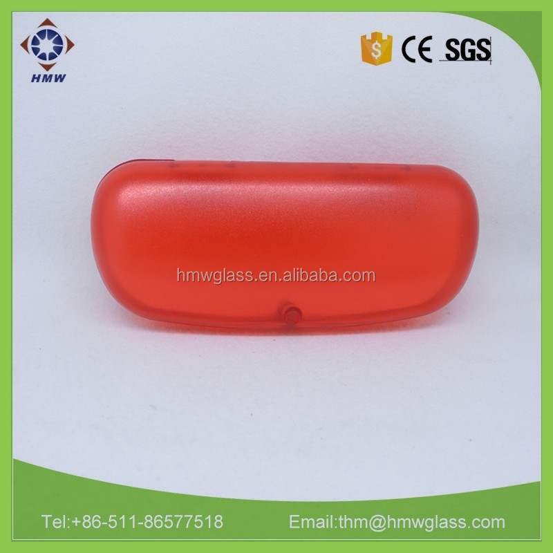 transparent plastic optical eyewear case , hard plastic case, small plastic case