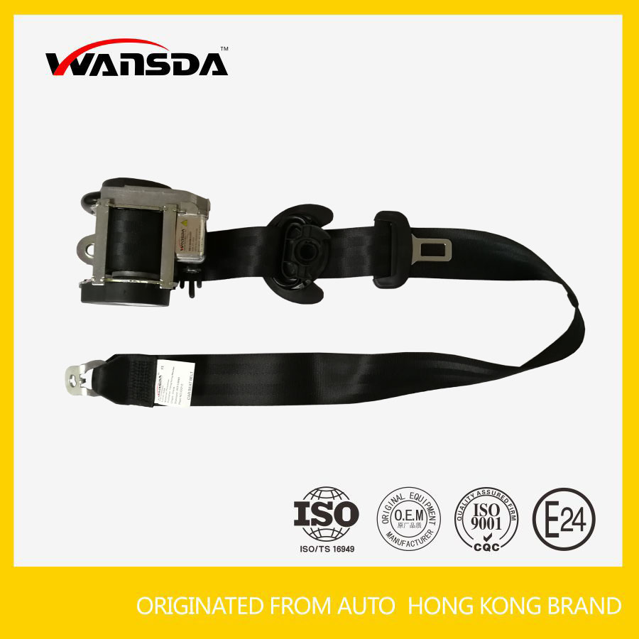 Automatic Retractor Car 3 Point Seat Belt For Passat Seatbelt