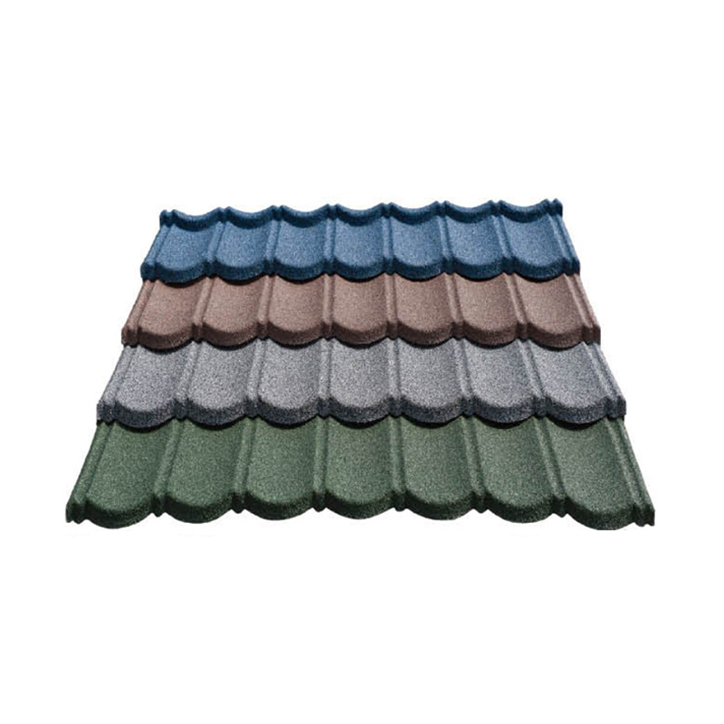 Galvalume Stone Color Coated Coil Roof Tile In Malawi