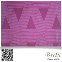 2016 New Design 100% polyester striped upholstery fabric for sofa