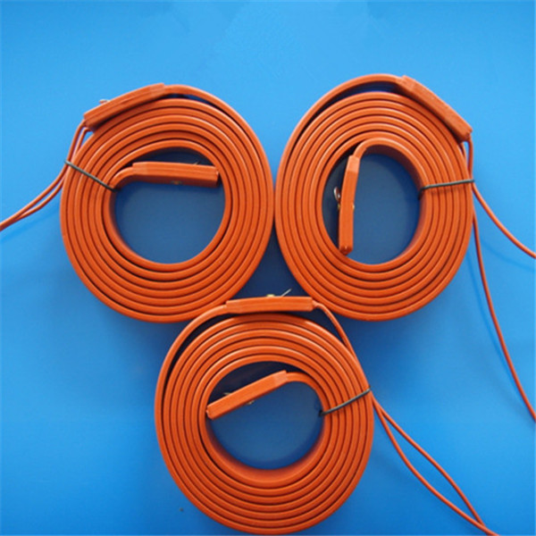 24V Silicone Flexible Industrial Heating Element for 3D Printer