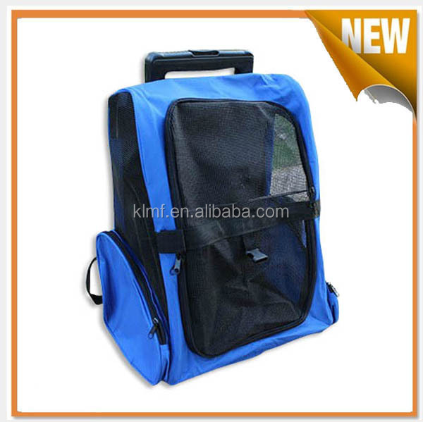 Pet products travel trolley cat bag